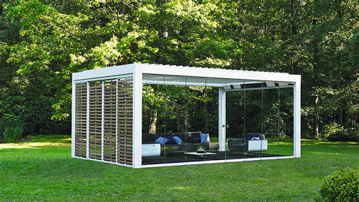 Waterproof Motorized Louver Roof Aluminium Pergola